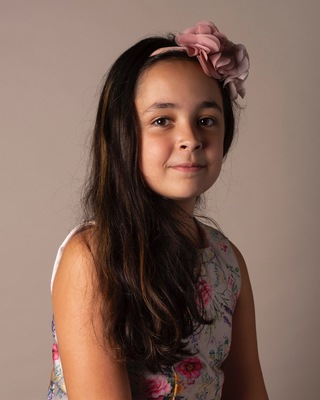 Noelia, 10, wants to become a lawyer.