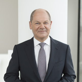 Olaf Scholz, minister of finance, SPD