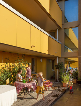 wagnis Park, housing cooperative, munich